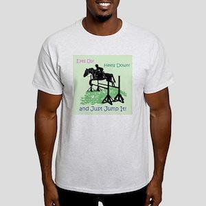 Fun Hunter/Jumper Equestrian Horse Light T-Shirt