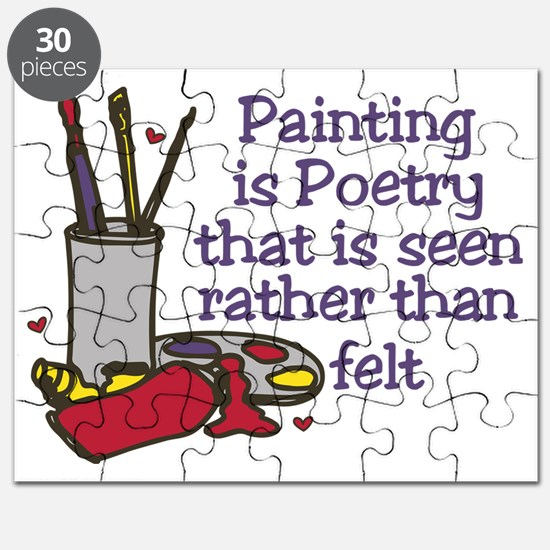 Painting is Poetry Puzzle