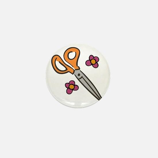 Hair Dresser Mini Button