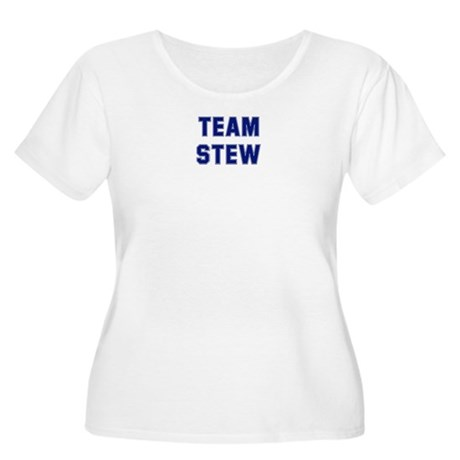 Team STEW Women's Plus Size Scoop Neck T-Shirt