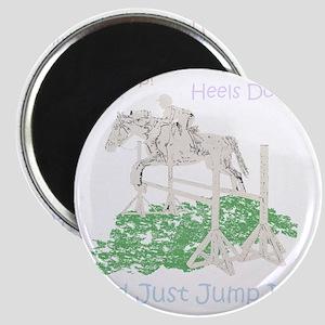 Fun Hunter/Jumper Equestrian Horse Magnet