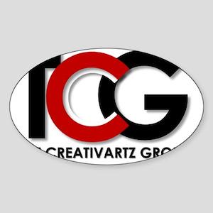 TCG Logo Sticker (Oval)