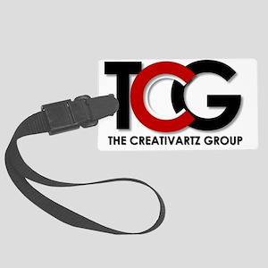 TCG Logo Large Luggage Tag