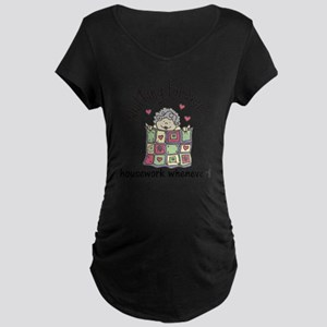 Quilting Forever Maternity Dark T-Shirt