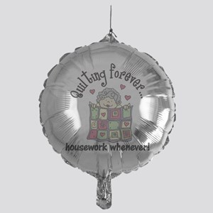Quilting Forever Mylar Balloon