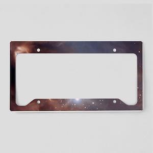 pillow case License Plate Holder