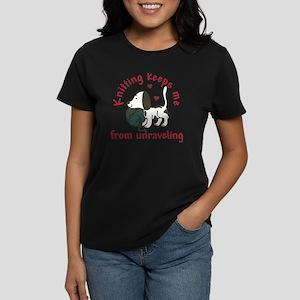 Knitting Women's Dark T-Shirt
