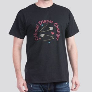 Official Diaper Changer Dark T-Shirt