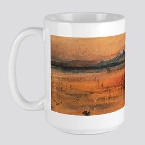 Lancaster Sands Wraparound Large Mug