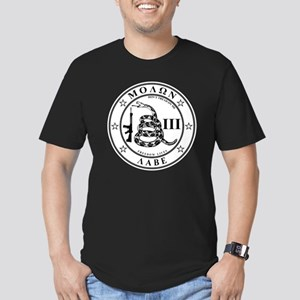Come and Take It (Whit Men's Fitted T-Shirt (dark)