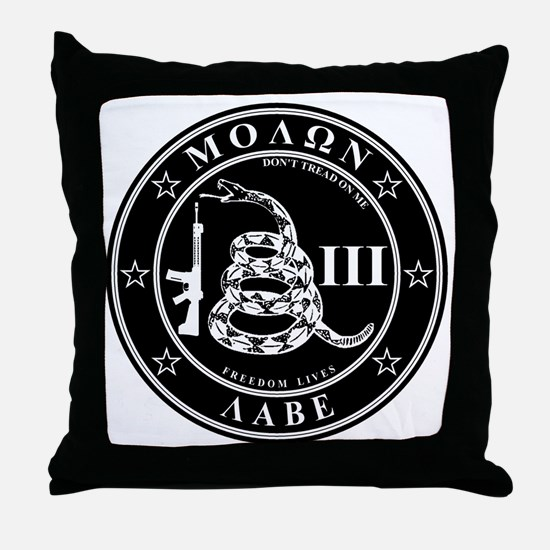 Come and Take It (Blackstar) Throw Pillow