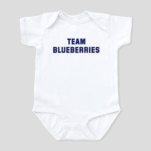 Team BLUEBERRIES Infant Bodysuit