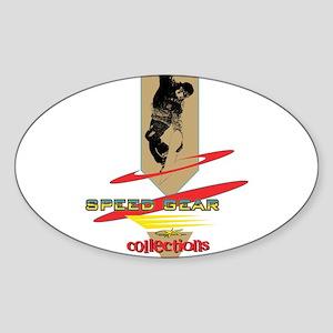 SpeedGear Oval Sticker