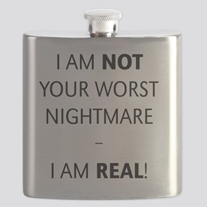 I am not your worst nightmare – I am real! Flask
