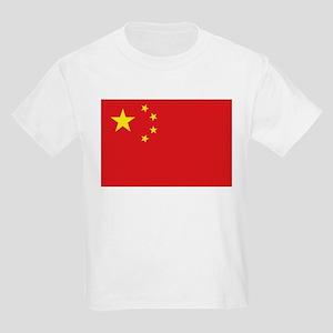 China National flag Kids Light T-Shirt