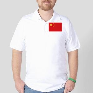 China National flag Golf Shirt