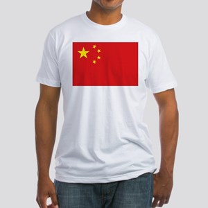 China National flag Fitted T-Shirt