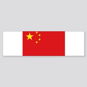 China National flag Bumper Sticker