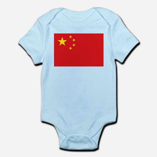 China National flag Infant Bodysuit
