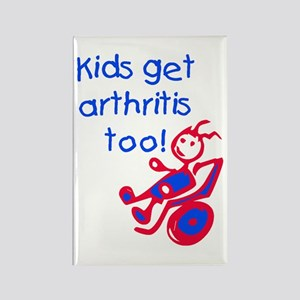 Juvenile Rheumatoid Arthritis Rectangle Magnet