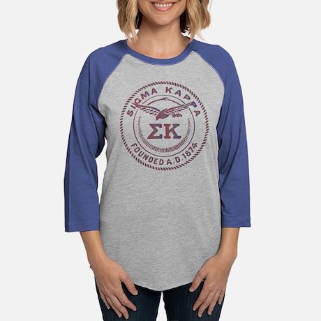 Sigma Kappa Circle Baseball Tee