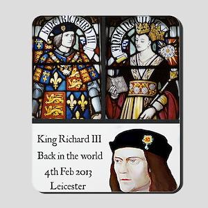 King Richard III Mousepad