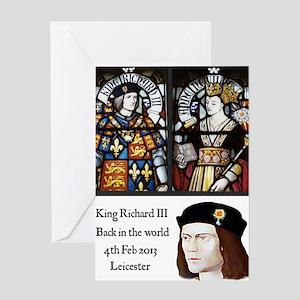 King Richard III Greeting Card