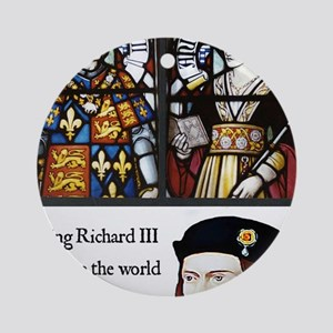 King Richard III Round Ornament