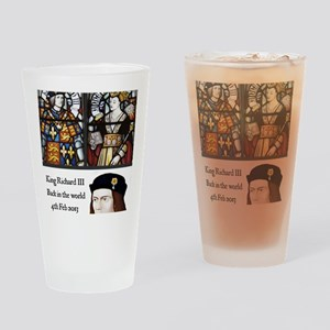 King Richard III Drinking Glass
