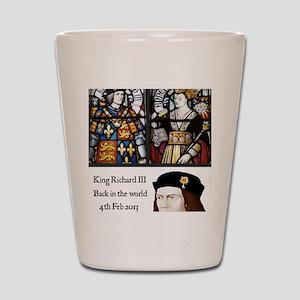 King Richard III Shot Glass
