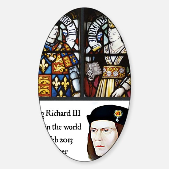King Richard III Sticker (Oval)