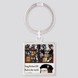 King Richard III Square Keychain