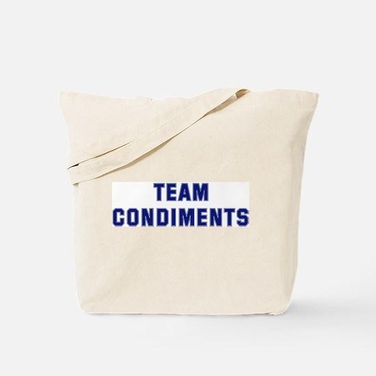 Team CONDIMENTS Tote Bag