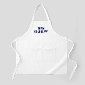 Team COLESLAW BBQ Apron