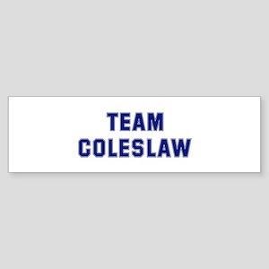 Team COLESLAW Bumper Sticker
