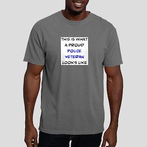 proud police veteran Mens Comfort Colors Shirt