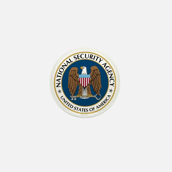 NSA - NATIONAL SECURITY AGENCY Mini Button