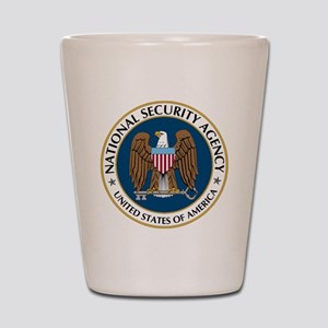 NSA - NATIONAL SECURITY AGENCY Shot Glass