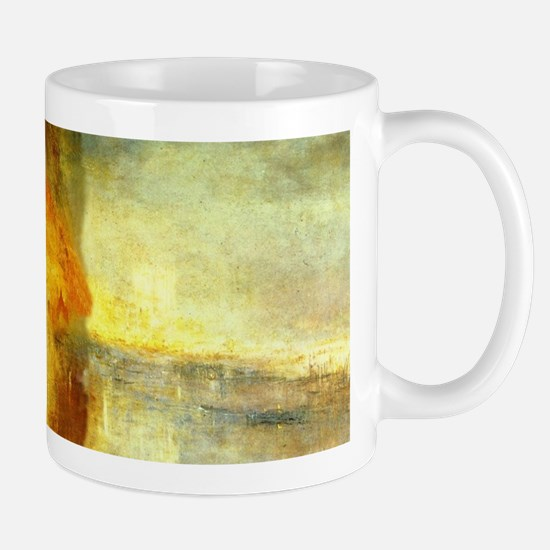 Turner Burning Parliament  Mug