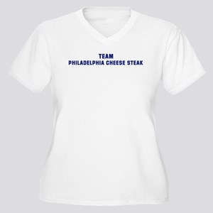 Team PHILADELPHIA CHEESE STEA Women's Plus Size V-