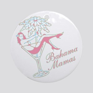 Bahama Mamas Round Ornament