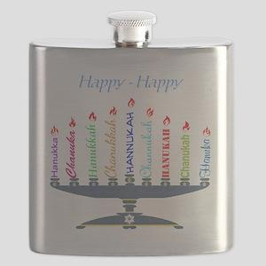 Spelling Chanukah 2 Flask