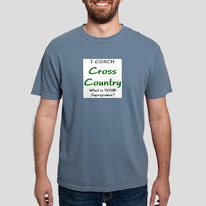 cross country Mens Comfort Colors Shirt