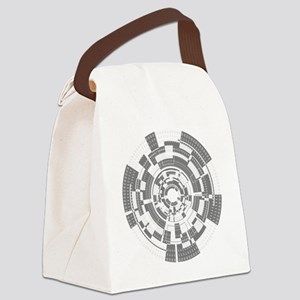 Bits and Bytes Canvas Lunch Bag