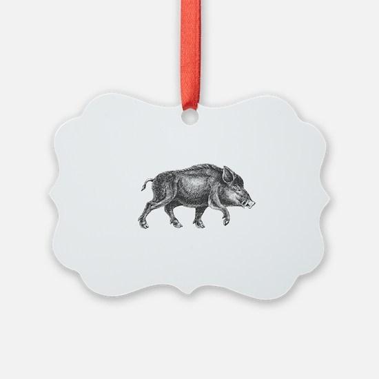 Wild Boar Ornament