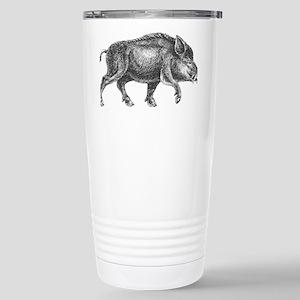 Wild Boar Stainless Steel Travel Mug
