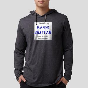 play bass guitar Mens Hooded Shirt