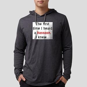first bassoon Mens Hooded Shirt