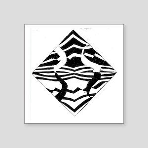 """ZebraIM Original Square Sticker 3"""" x 3"""""""