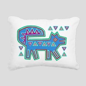 DOG MOLA DESIGN Rectangular Canvas Pillow
